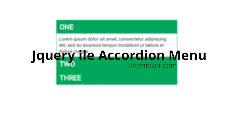 jquery-accordion-menu